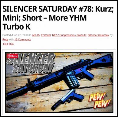 Yankee Hill Machine Turbo K