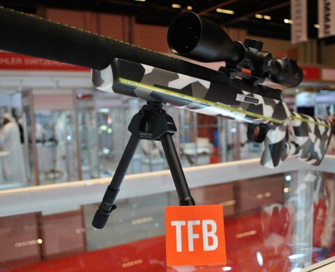 FBT Carbon Fiber Stock with Spartan bipod.