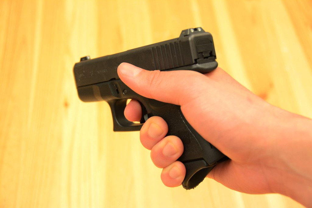 High Handgun Grip