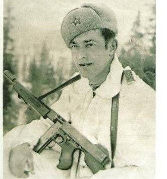 Captain Kirill Klaida - commander of combat enginner battallion, 1943