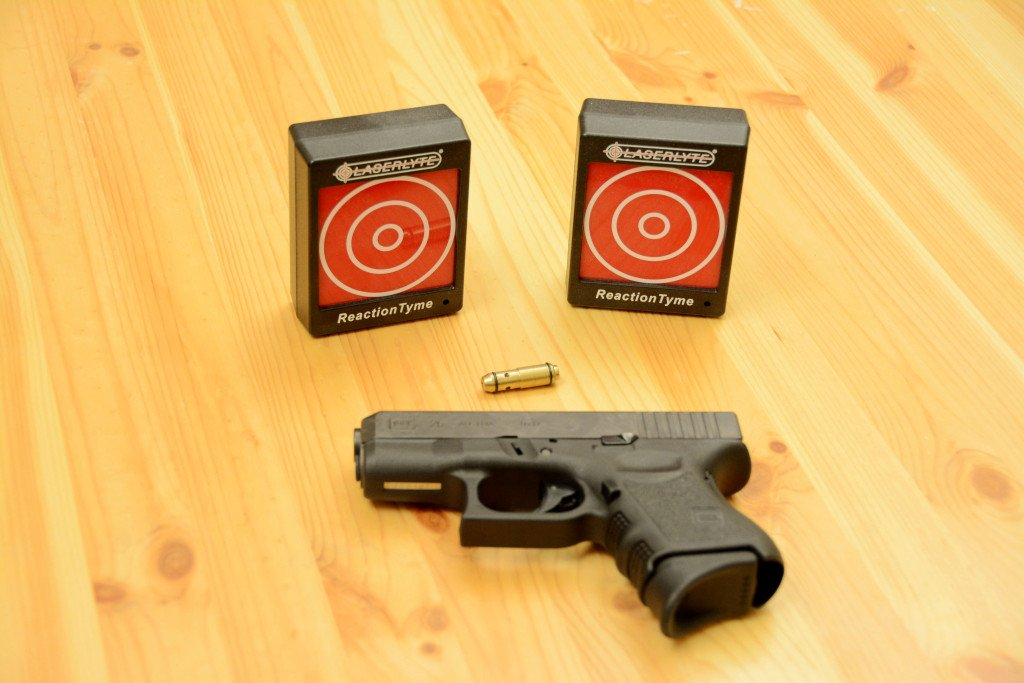 Laserlyte 9mm with Reaction Tyme Targets