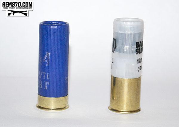 Low brass, high brass shotgun shells