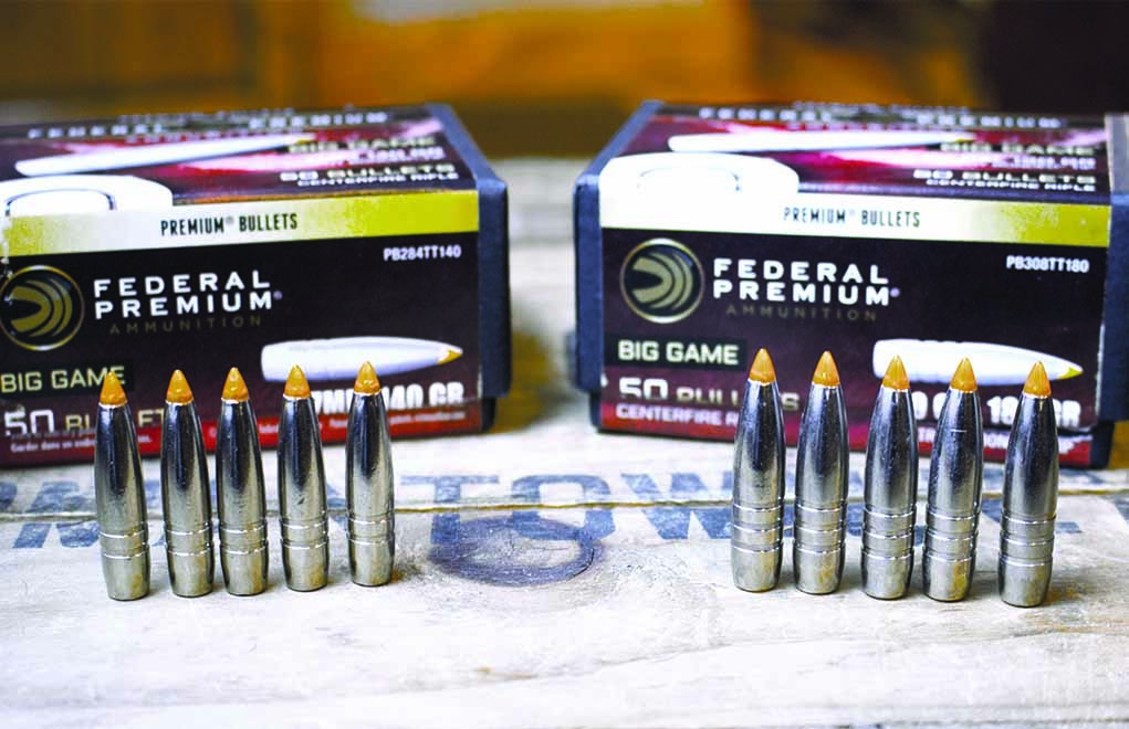 Federal's Trophy Bonded Tip is a stout and accurate bullet, making it a great choice for an all-around hunting bullet.