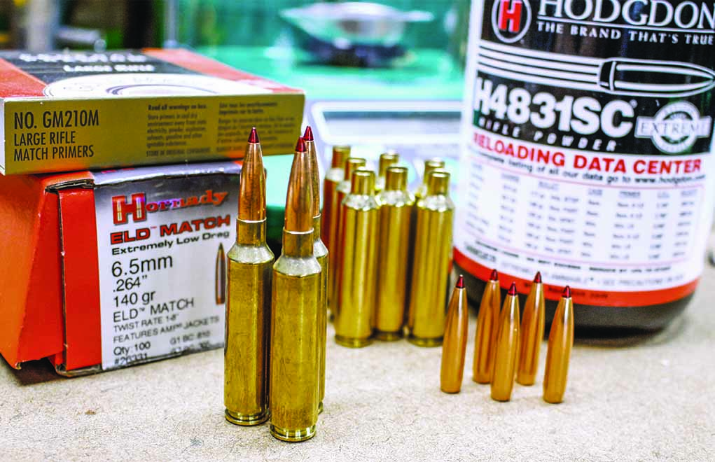 The Hornady ELD Match, loaded in 6.5-284 Norma, makes an excellent long-range choice.