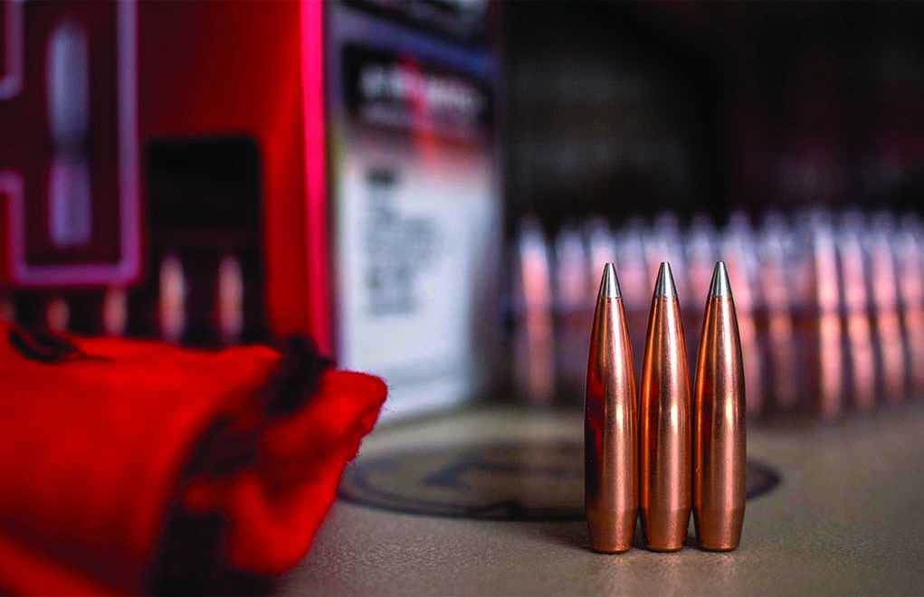Hornady's A-Tip Match,—seriously consistent and truly accurate.