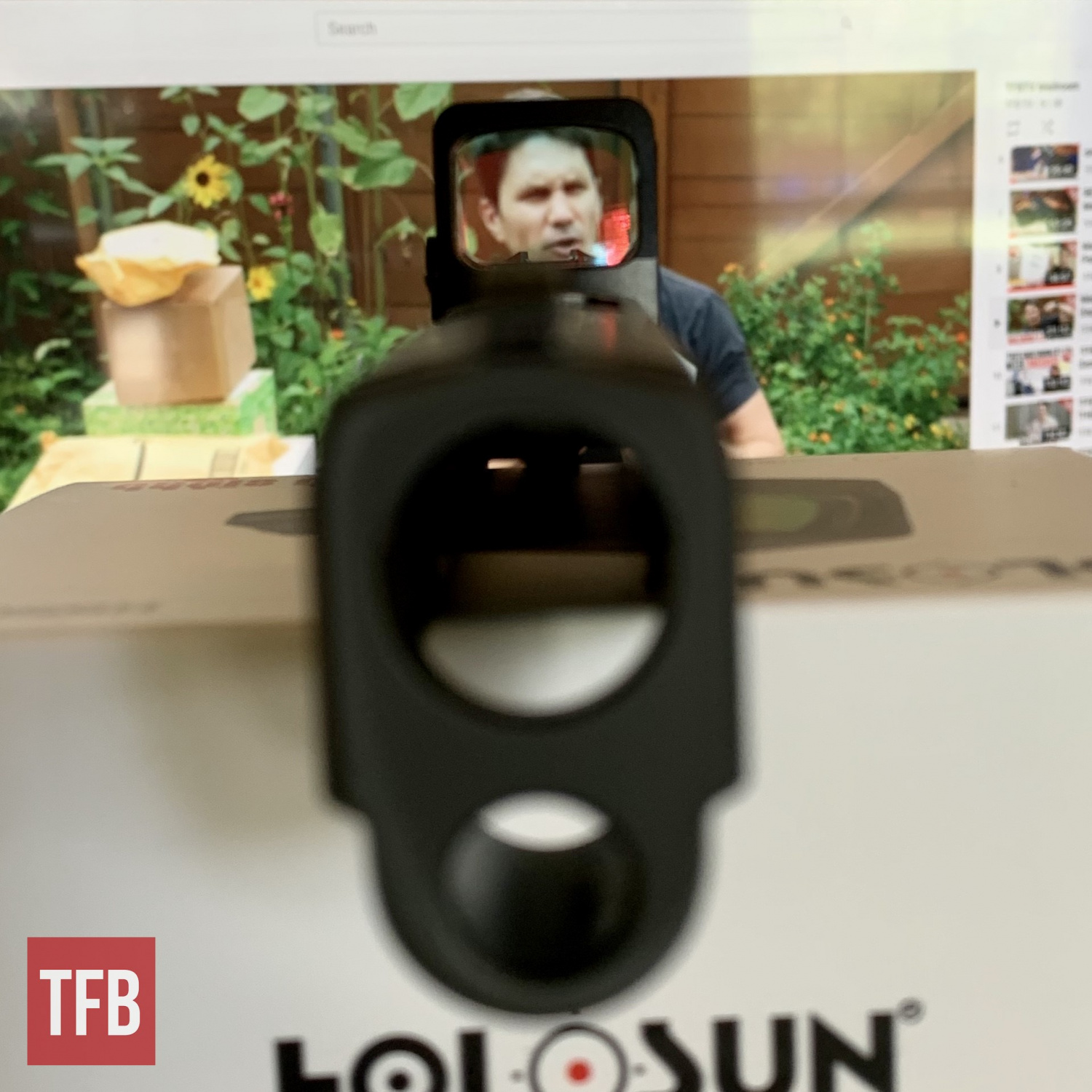 TFB TV's James Reeves silently judges you through the 507K's multilayer coated glass.