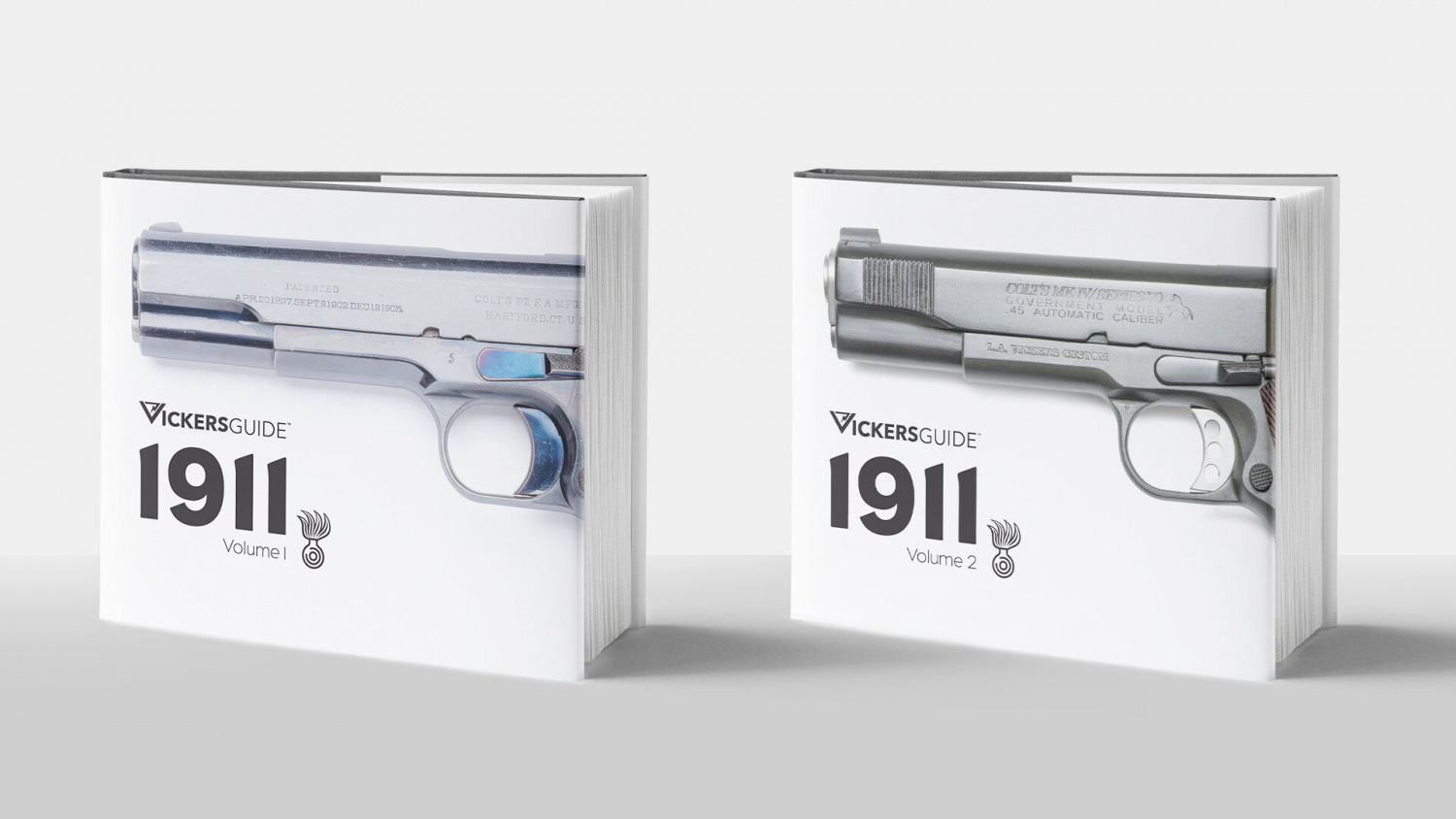 Vickers Guide 1911 Volume I & II Available for Pre-Order