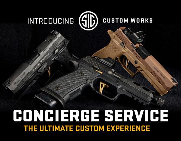 SIG Sauer Introduces the SIG Custom Works Concierge Service